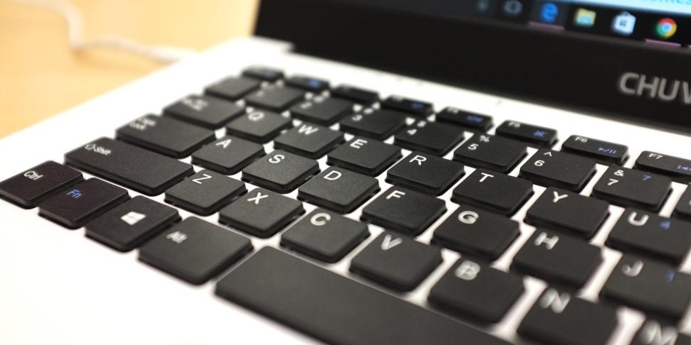 Chuwi Lapbook 14.1 Keyboard