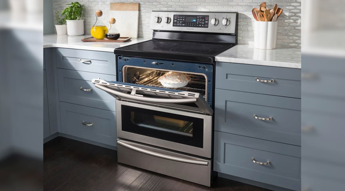 Samsung Ne59j7850ws Flex Duo Electric Range Review