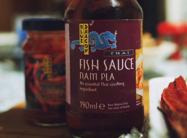 How to cook for guests with food allergies for Vegan fish sauce substitute