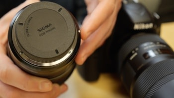 1242911077001 3595676427001 sigma lens unboxing large
