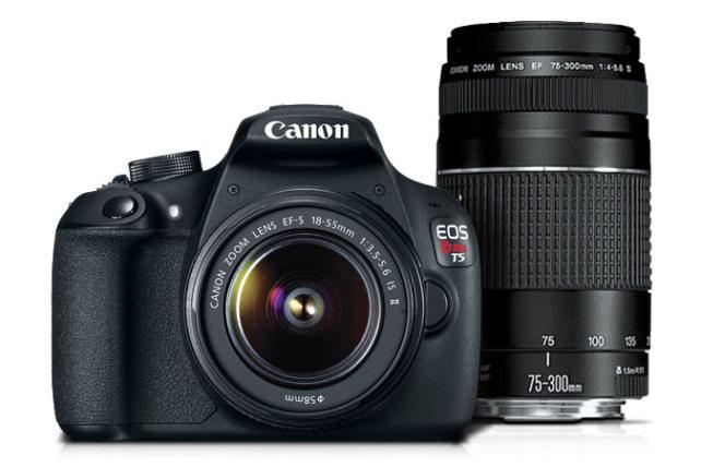 Canon T5 twin lens kit