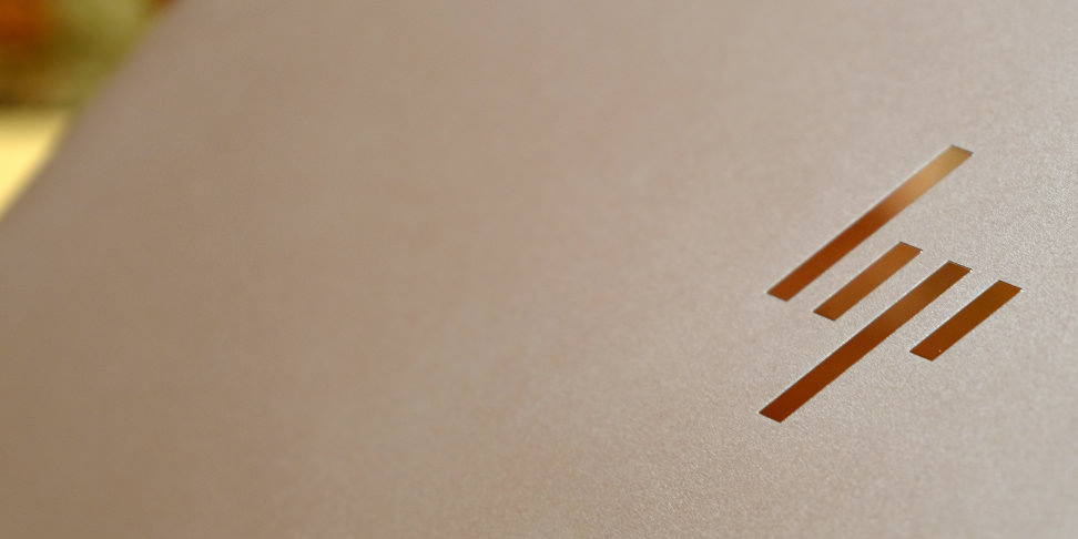 HP Spectre X360 New HP Logo
