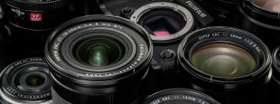 Fujifilm x mount system