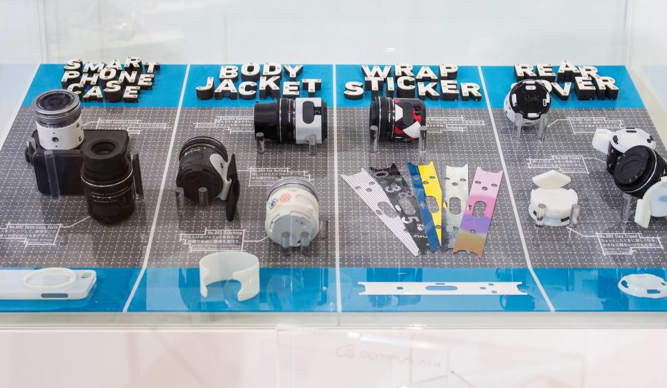 3D-Printed Olympus Air Accessories