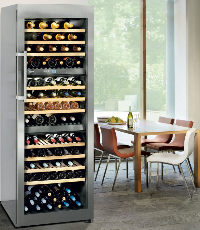 Liebherr 80-bottle Wine Fridge