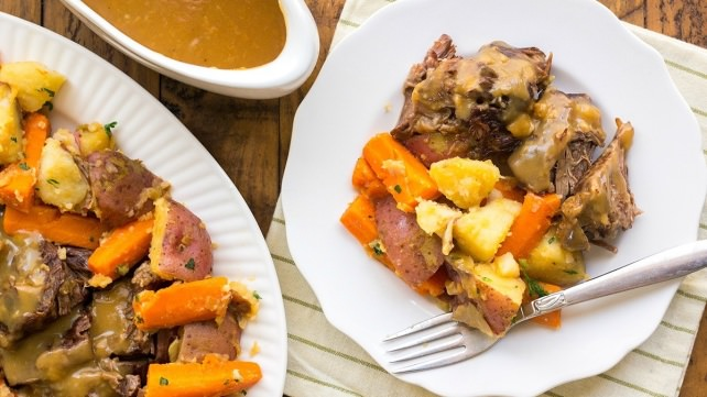 Instant Pot Old-Fashioned Pot Roast