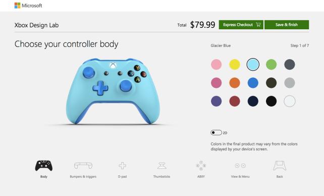Xbox Custom Controller
