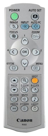 Remote Control Detail Image