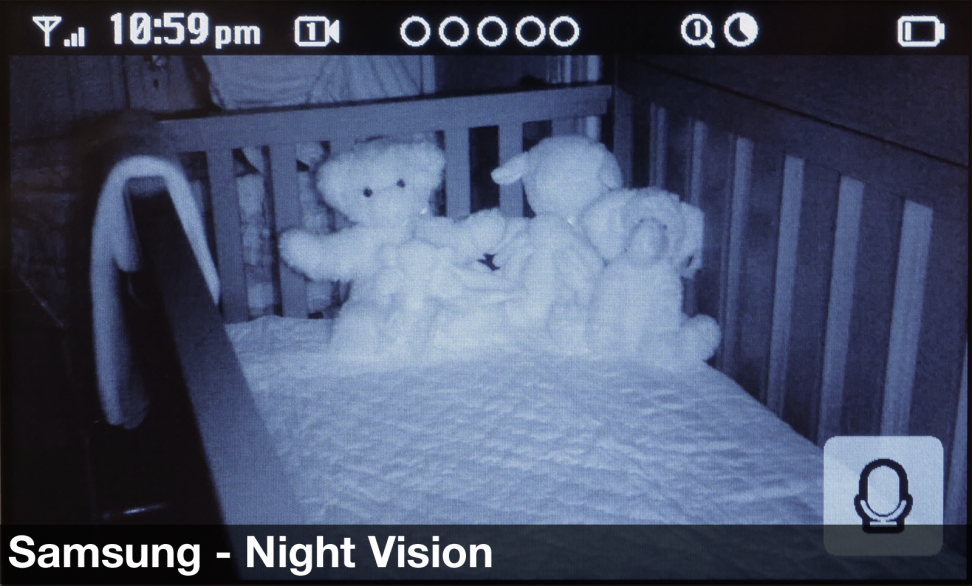 Samsung BrightVIEW 3043W - Night Vision Image Quality
