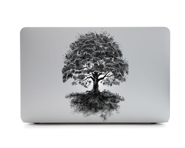 Apple Logo Backlit Tree