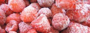 Frozen raspberries epsos