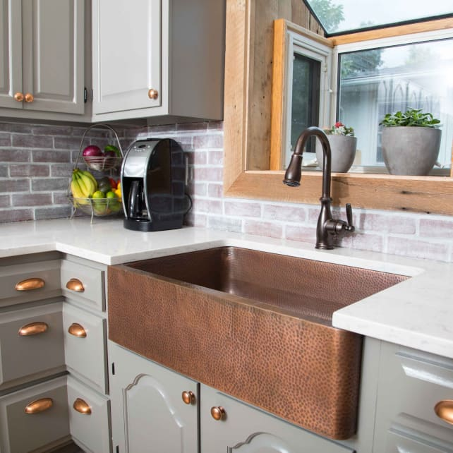 Copper Is Inu2014and So Are Farmhouse Sinks