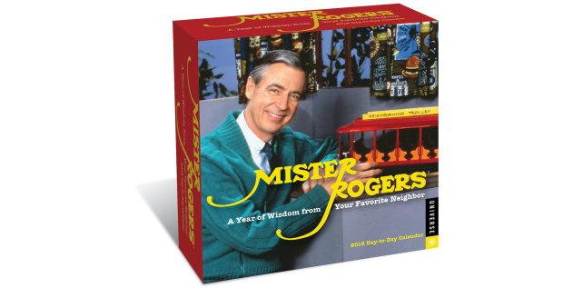 Mister Rogers calendar