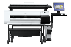 Product Image - Canon  imagePROGRAF iPF710 with Colortrac Scanning System