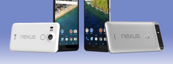 Google nexus 5x and 6p hero