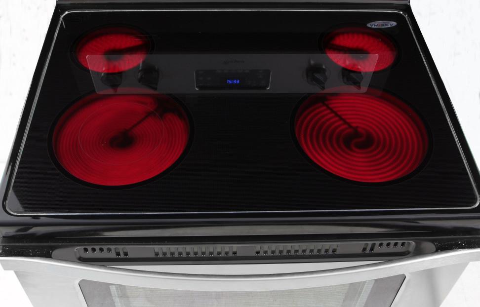 Whirlpool WFE515S0ES rangetop on