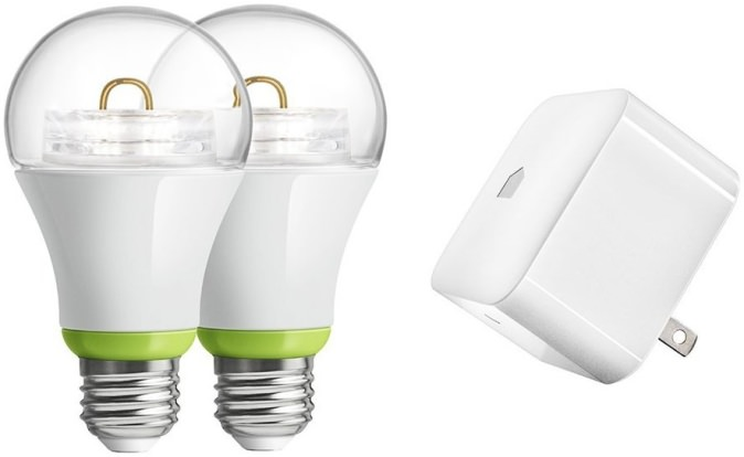 Product Image - GE Link - 60w 2 Bulb Starter Kit