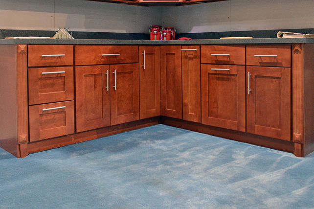 What are ready to assemble cabinets for Pre manufactured cabinets