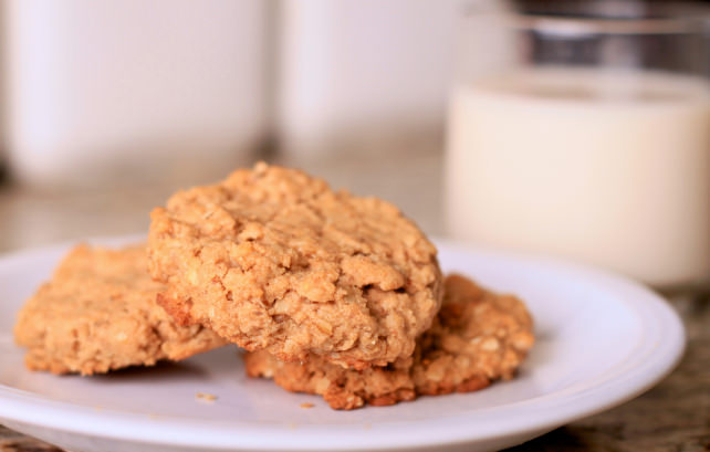 Land O Lakes Chocolate Almond Butter Cookies