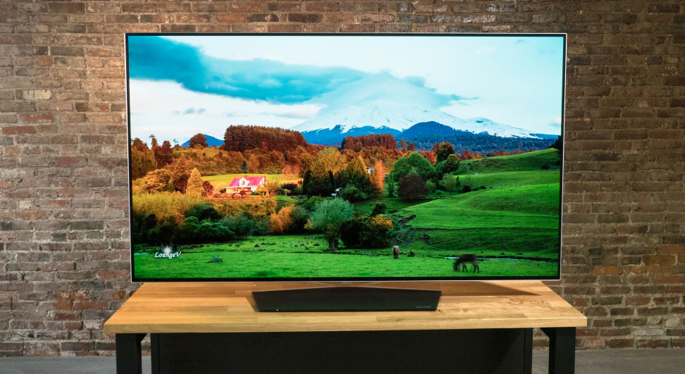 LG OLED55B7A with 4K Content