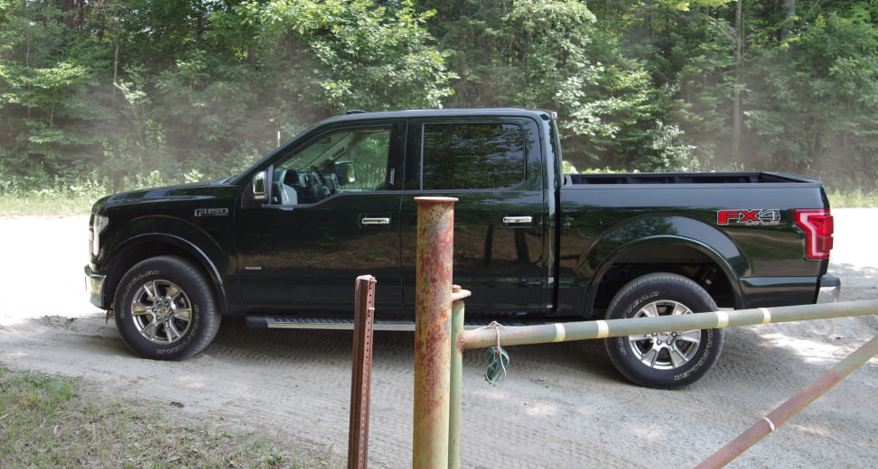 Ford F-150 Dirt Road