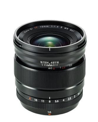 Product Image - Fujifilm Fujinon XF 16mm f/1.4 R WR