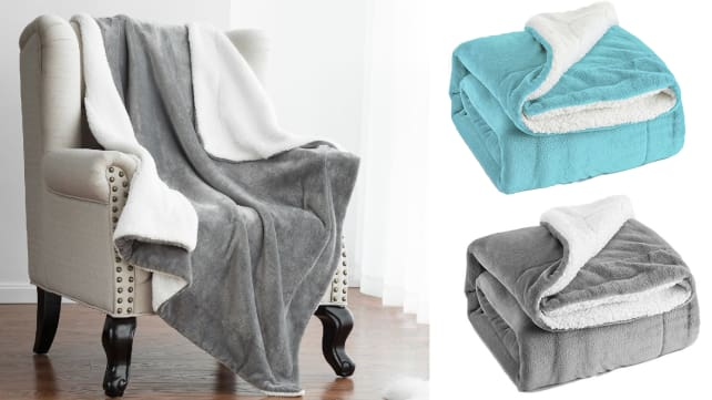 Bedsure Sherpa Throw