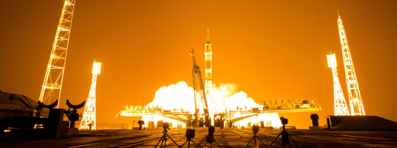 Soyuz expedition 40 launch