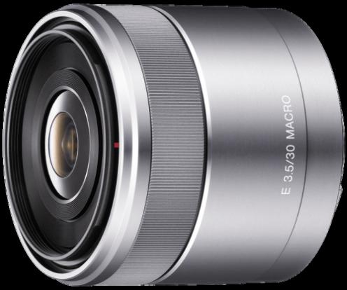 Product Image - Sony E 30mm f/3.5 Macro E-mount Macro Lens