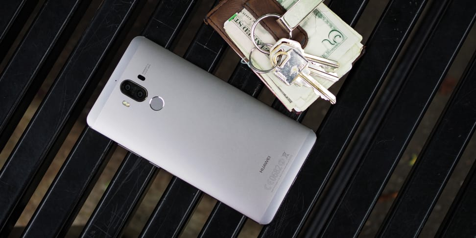 Huawei Mate 9 On Table