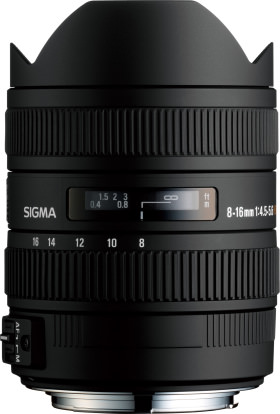 Product Image - Sigma 8-16mm f/4.5-5.6 DC HSM
