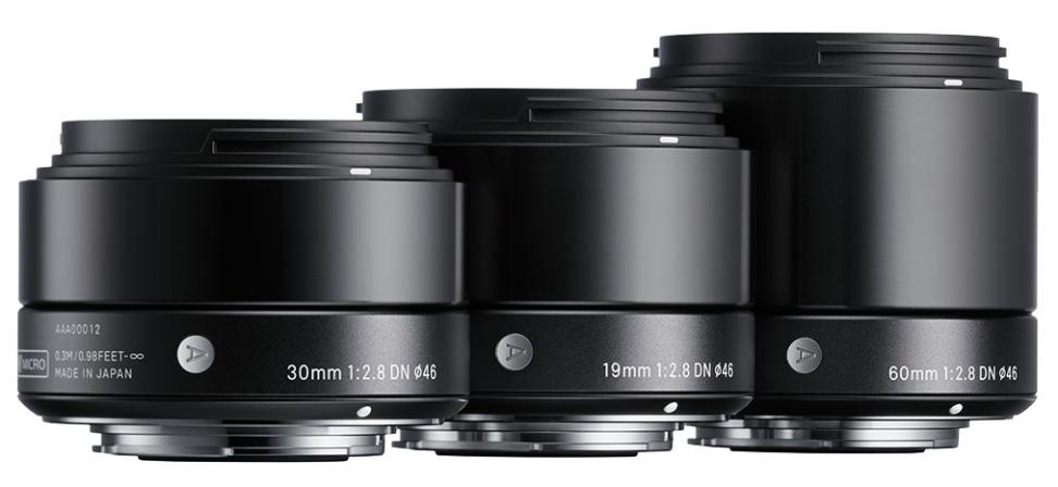 Sigma DN Lenses