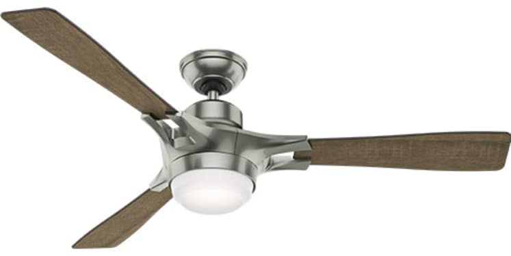 hunter signal and symphony connected ceiling fans smart home. Black Bedroom Furniture Sets. Home Design Ideas