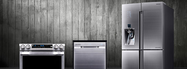 Samsung cooks up some high end kitchen appliances for High end wall ovens
