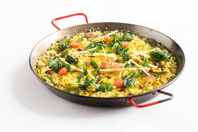 Indian Turmeric Paella
