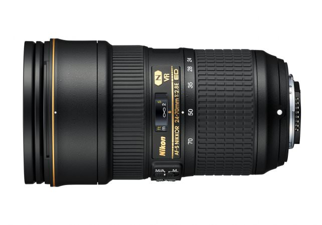 24-70mm f/2.8E ED VR II Side