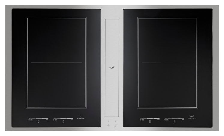 jennair to debut first downdraft induction cooktop