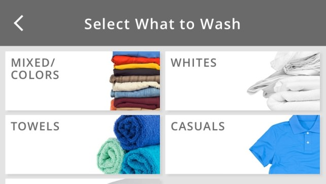 Whirlpool all-in-one washer/dryer combo display