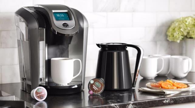 Keurig K575 pod coffee brewer