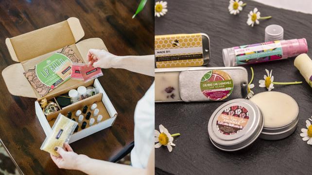 DIY Lip Balm Gift Kit