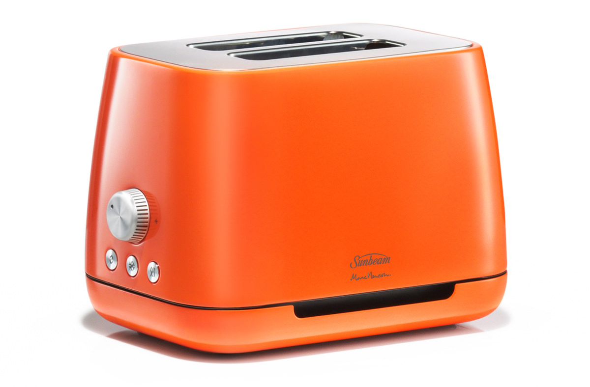 apple designer marc newson designs new toaster kettle for sunbeam ovens. Black Bedroom Furniture Sets. Home Design Ideas