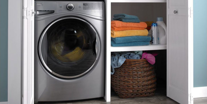 This Closet Depth Washer Is Still Full Size, But It Can Fit In Almost Any  Laundry Room.