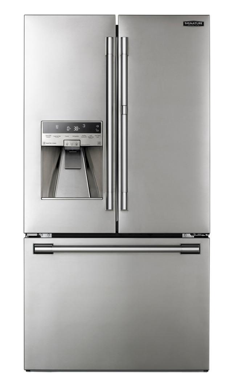 LG Signature UPFXC2466S 36-inch Door-in-Door French Door Counter-Depth Refrigerator