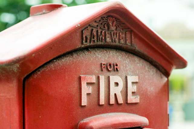 Fire Call Box