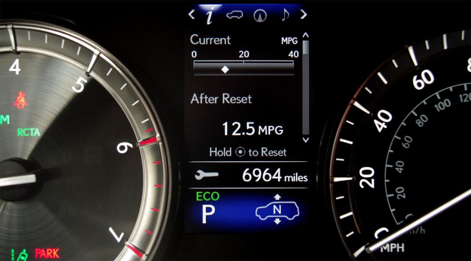 LX570 Fuel Economy