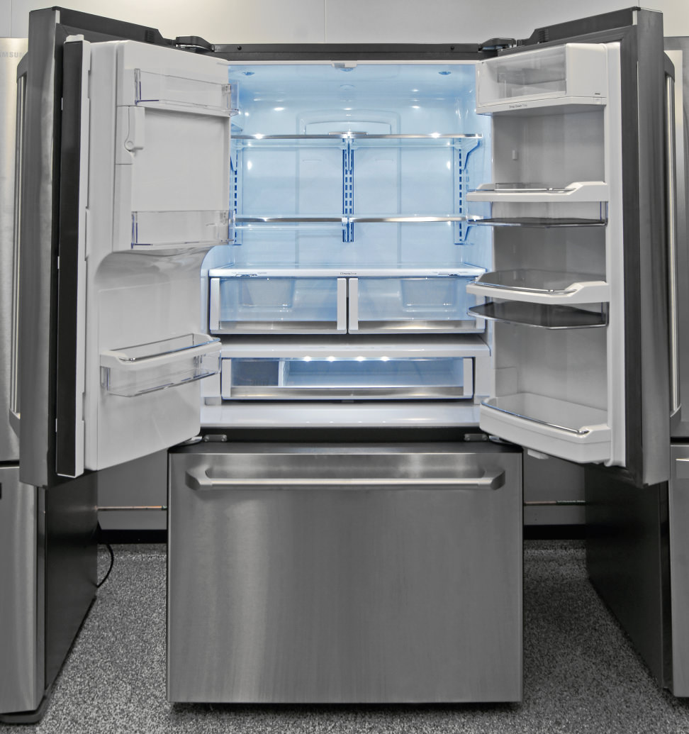 Ge caf cfe28tshss refrigerator review for High end french doors