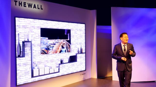 Samsung The Wall MicroLED TV