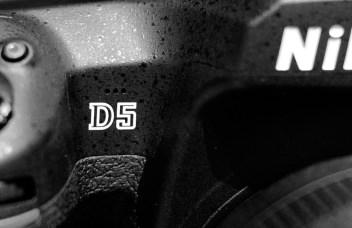 Nikon d5 logo hero