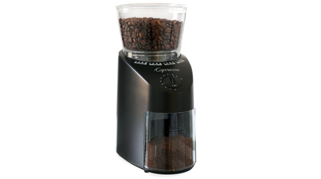 Capresso Infinity burr grinder for coffee
