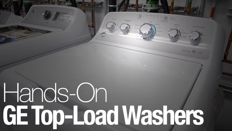 ge washing machine top load
